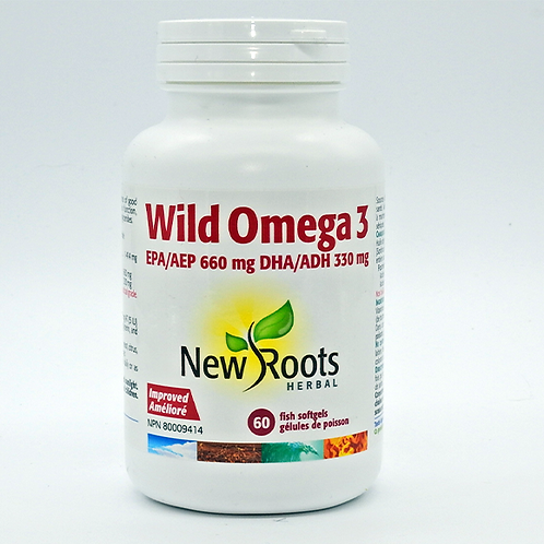 New Roots Wild Omega 3 60 SG