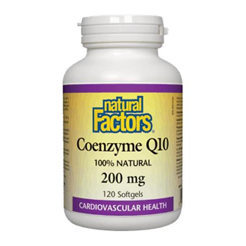 Natural Factors Coenzyme Q10 200 mg 120 caps