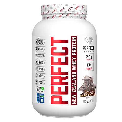 Perfect New Zealand Whey 1.6  lbs Triple Rich Dark Choco