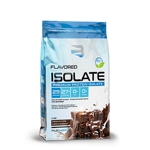 Believe Supplements Flavoured Isolate 2lbs Chocolate Fudge
