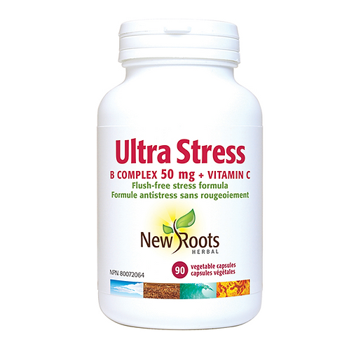 New Roots Ultra-Stress + Vitamin C 90 Caps