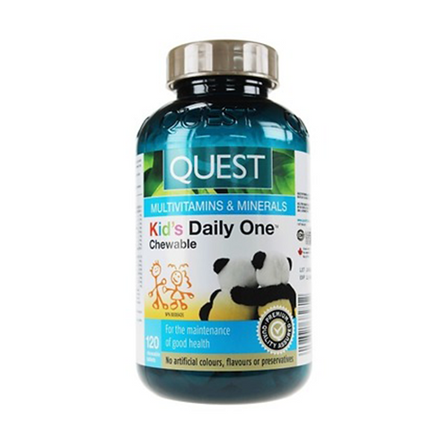 Quest Kids Daily One 120 Chewable Tablets