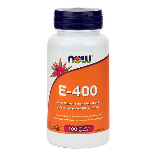 Now Vitamin E-400 100 softgels