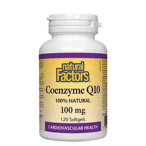 Natural Factors Coenzyme Q10 100 mg 60 Caps