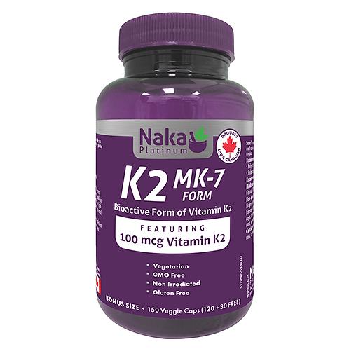 Naka Platinum K2 150vcaps