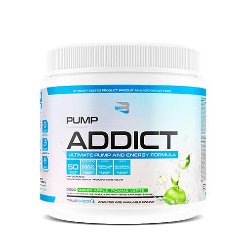 Believe Supplements Pump Addict Green Apple