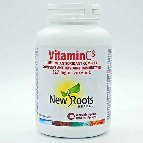 New Roots Vitamin C8 180 Caps
