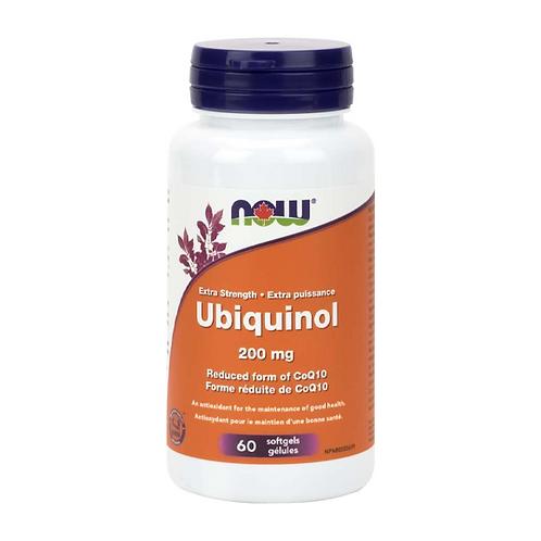 Now Ubiquinol  200 mg 60 Caps