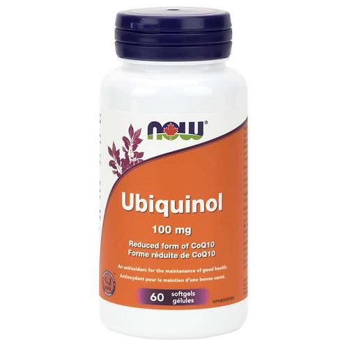 Now Ubiquinol  100 mg 60 Caps