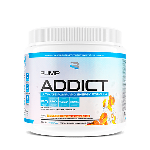 Believe Supplements Pump Addict Sour Peach