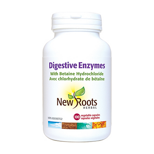 New Roots Digestive Enzyme 100c