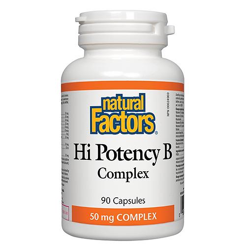 Natural Factors Hi-Potency 50mg