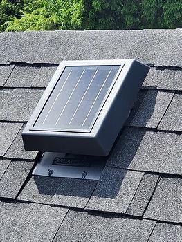KPNE Products AirVents Solarvent SolarFlow Ventilation Roofvent CSAA93 Canada USA SolarPower Renewable Energy Attic vent