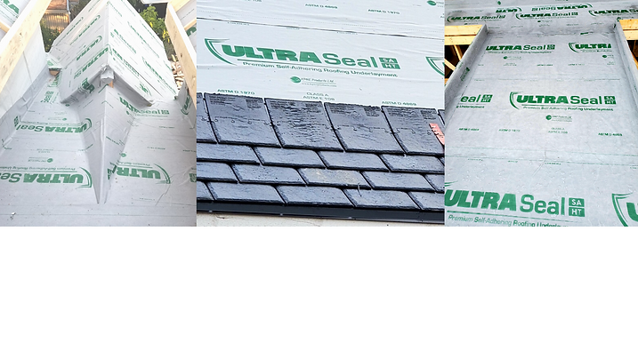 KPNE UltraSeal SA HT Butyl Roofing Underlayment self adhesive peel and stick Roof Ultra Seal
