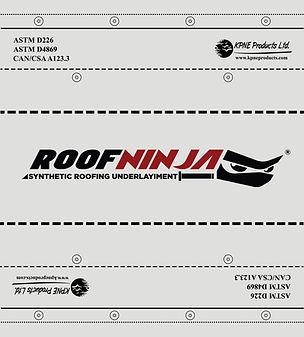 KPNE RoofNinja Roofing Underlayment 15lb 30lb underlay Synthetic Felt Roof Ninja
