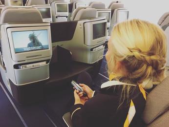 Dating a flight attendant...