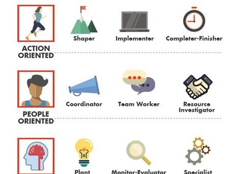 9 командных ролей, в обучении, тренинге, работе