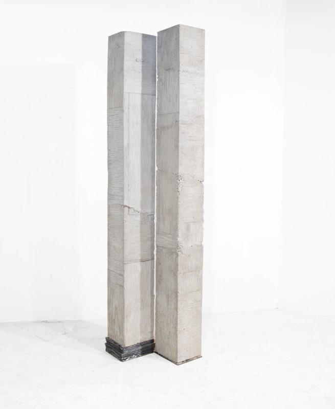 SPACE BETWEEN. concrete, lead 2015
