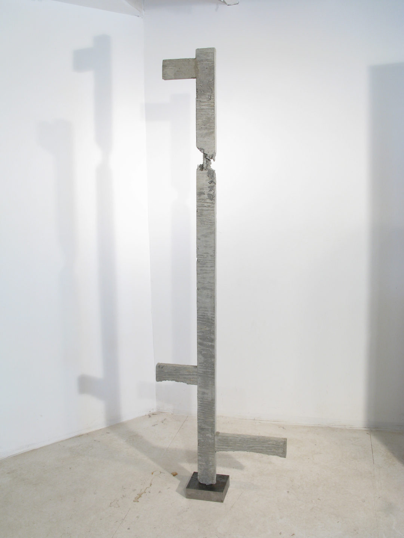 BROKEN LADDER #9. concrete, steel