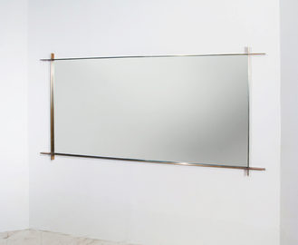 #295. WALL MIRROR, silvered bronze