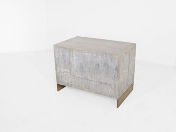 #281. LOW TABLE, concrete, bronze