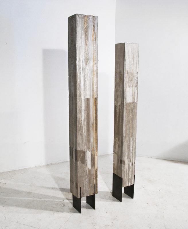 2 COLUMNS. concrete, steel. 2013