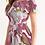 Pink Magnolia Off the Shoulder Dress left