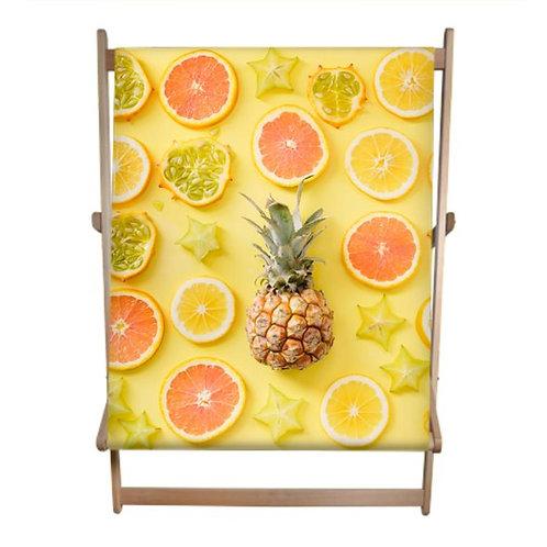 Citrus Bonanza Double Deckchair