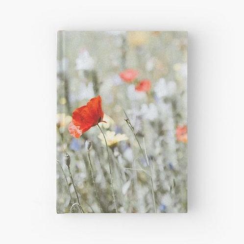 Wildflowers Hardbound Journal Front View