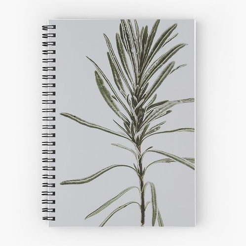 Pine Spiral Notebook Front