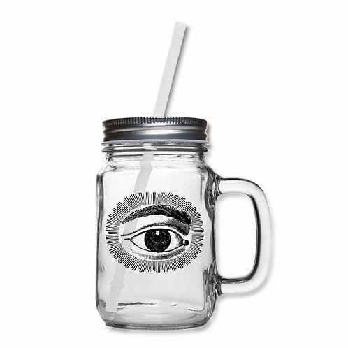 Eye See You Mason Jar Mug