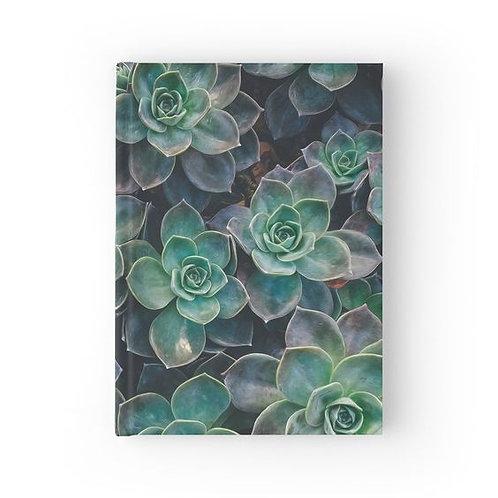 Echeveria Succulents Hardbound Journal