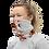 Cherry Blossoms Gaiter woman mask left