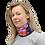 Blushing Rock Roses Gaiter woman scarf left