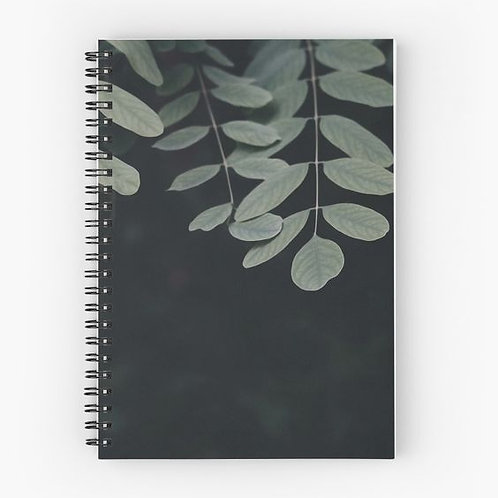 Eucalyptus Spiral Notebook Front