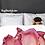 Thumbnail: Rouge Ruffle Flowers Duvet Cover
