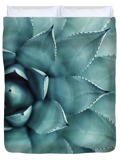 Spotted Succulent Duvet Cover