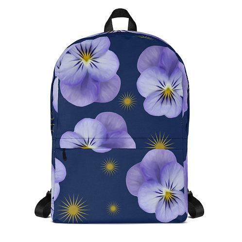 Violas and Starbursts Backpack