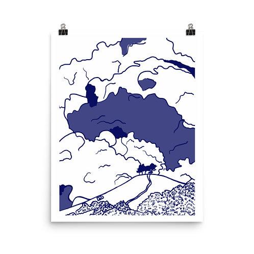 Lake Life #4 Art Print