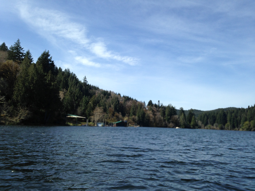 Tenmile Lake, 2018. Lakeside, Oregon - Oregon Coast. Photo courtesy of The Yellow Desk.