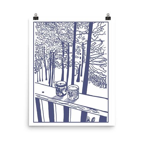 Lake Life #2 Art Print