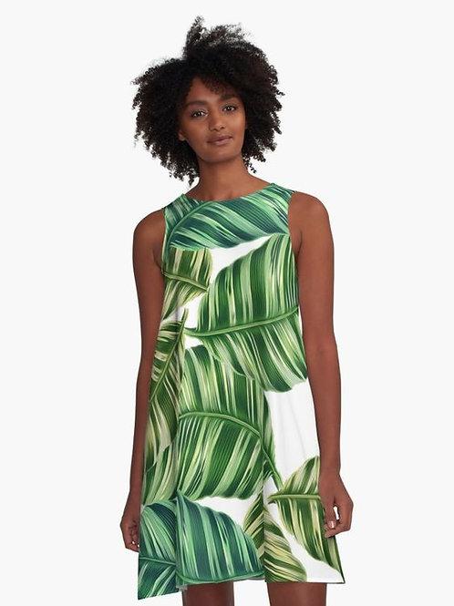 Feeling Tropical? A-Line Dress