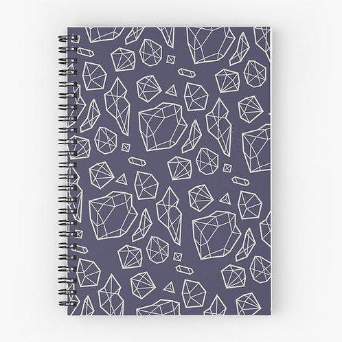 Bling Bling Spiral Notebook Front