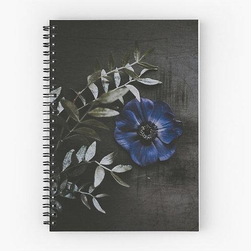 Wallflower V Spiral Notebook Front