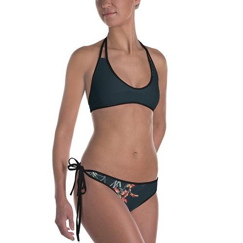 Peach Paradise Reversible Bikini