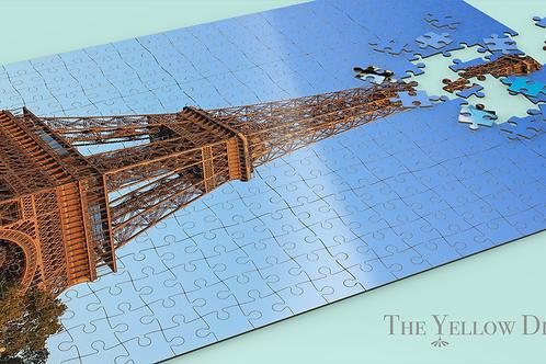 Eiffel Tower Jigsaw Puzzle angle