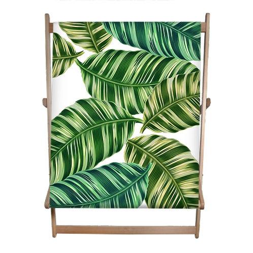 Feeling Tropical? Double Deckchair