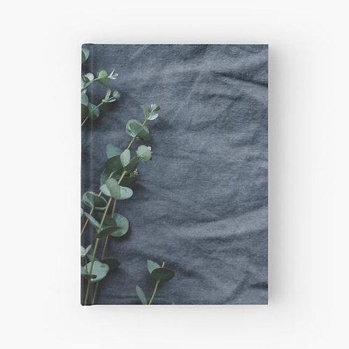 Linen and Eucalyptus Hardbound Journal