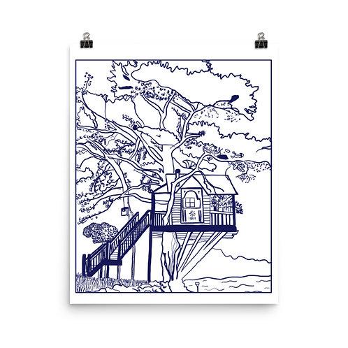 Lake Life #1 Art Print