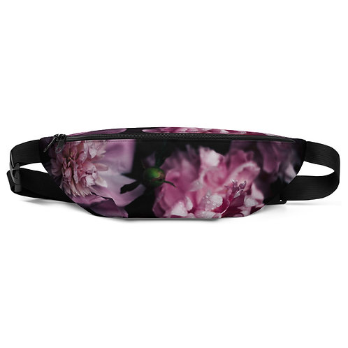Pocket Full of Peonies Hip Bag Front